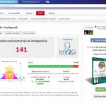 Astăzi mi-am testat coeficientul de inteligență