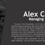 Top 3 sfaturi legate de facultate de la Alex Costea