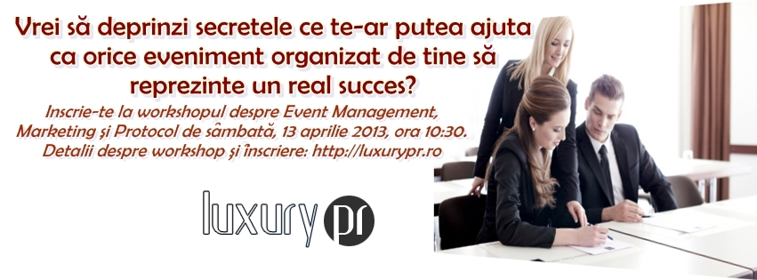 cover workshop luxury pr event management marketing si protocol