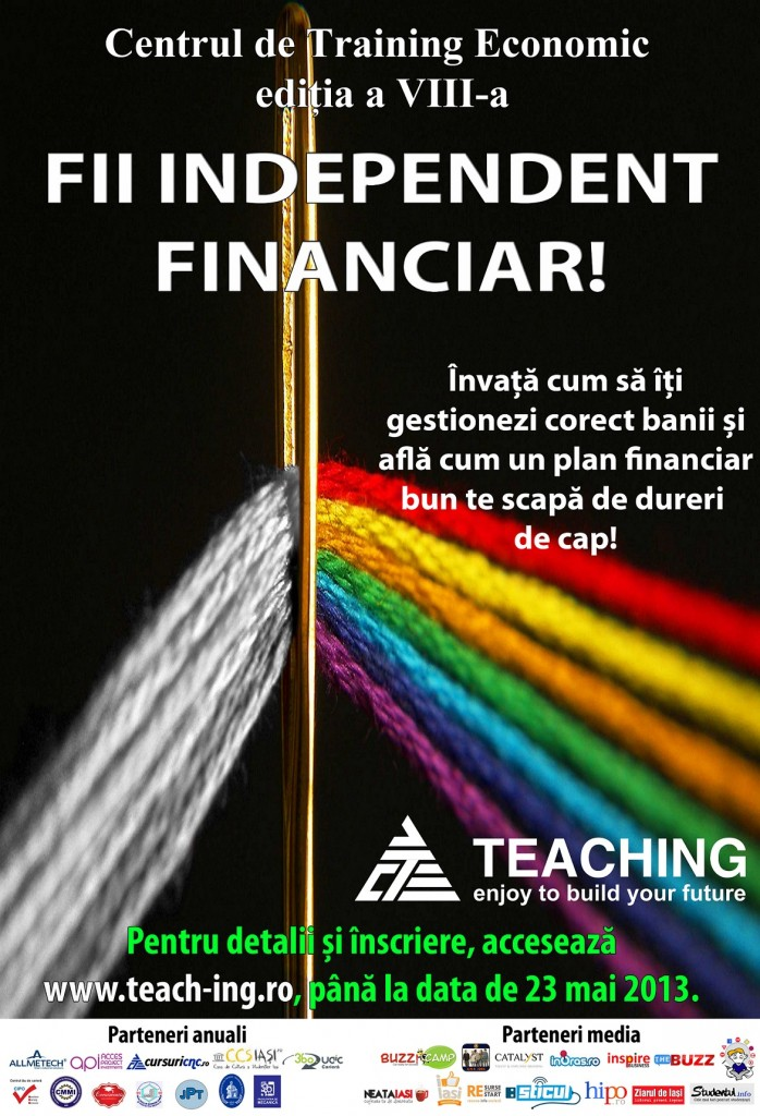 Afis_training_fii_independent_financiar_iasi_teaching