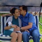 Primul portret de familie: Cristian, Anca & Maria Balaban