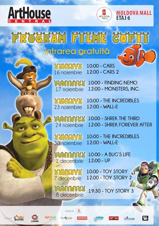 filme pentru copii pixar art house central