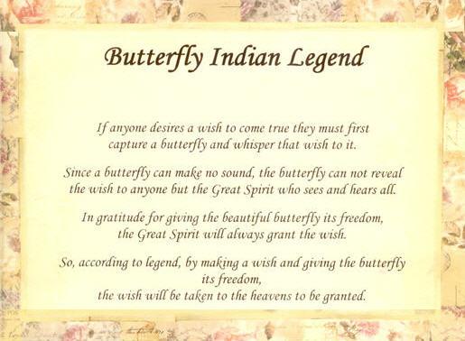 legenda despre fluturi