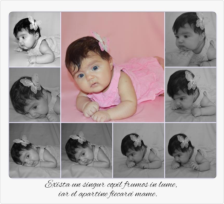 poze bebelus maria