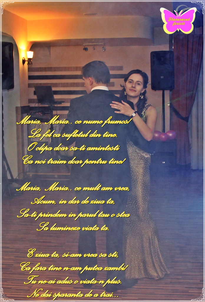 maria maria primul dans