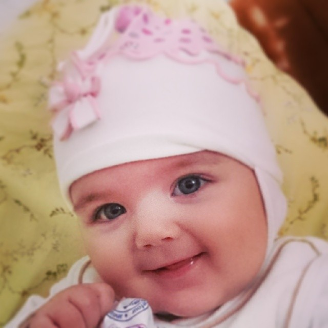 primul zambet la rugamintea mea bebe 6 luni - 3 februarie 2014