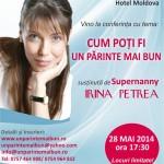 """Proiectul """"Un părinte mai bun"""" ajunge la Iași"""