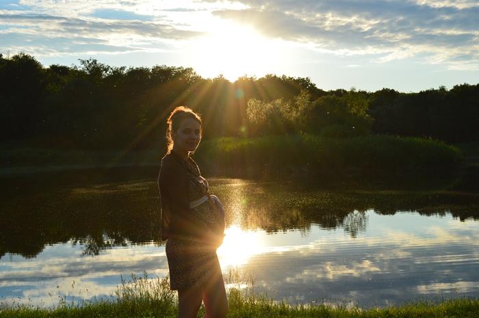 portret de femeie gravida saptamana 29 de sarcina (1)