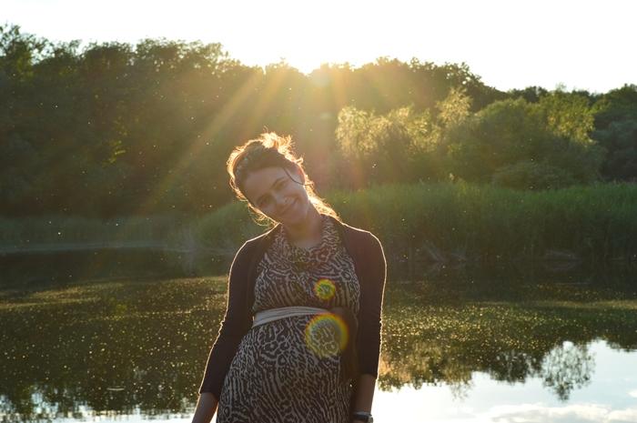 portret de femeie gravida saptamana 29 de sarcina (2)