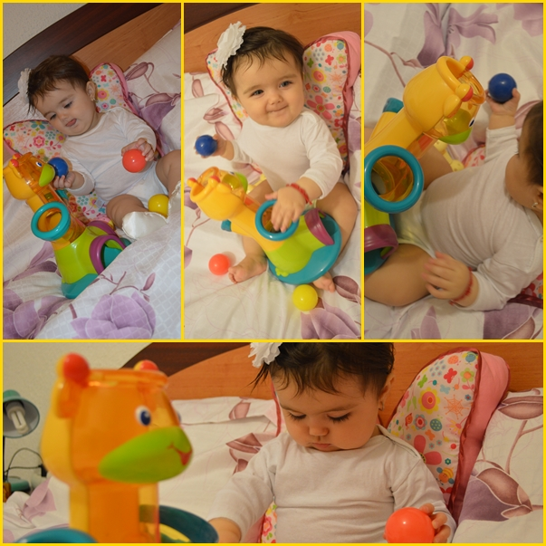 review jucarie educativa girafa bright starts