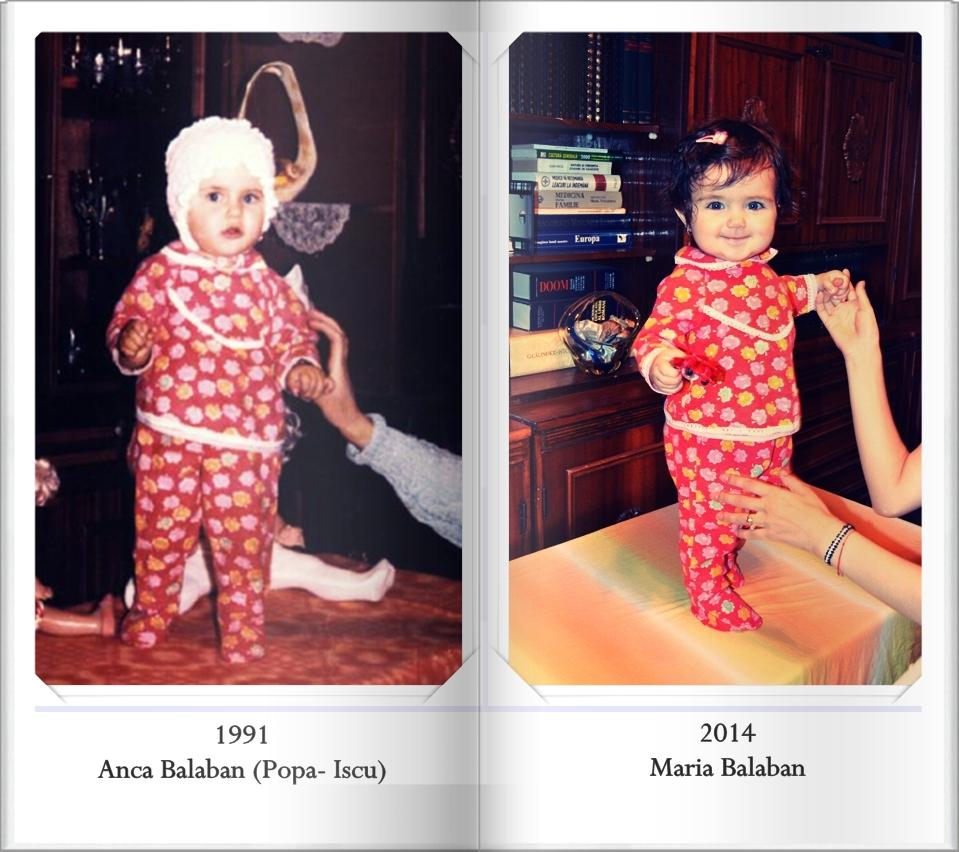 maria si anca balaban povestea unei pijamalute pastrate din generatie in generatie