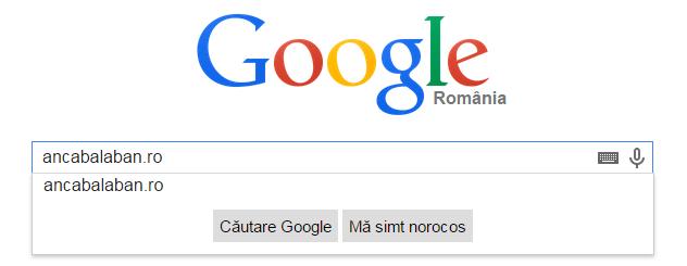google search blog anca balaban popa iscu