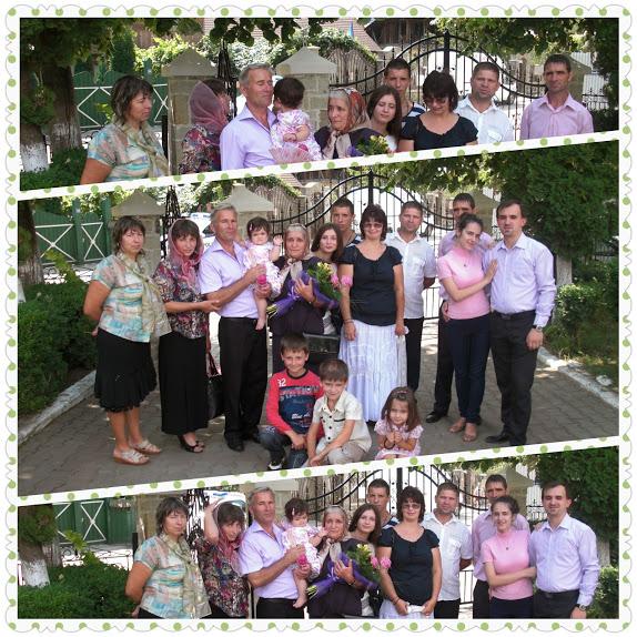 reuniune de familie bunica la 70 de ani
