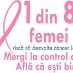 Octombrie — luna dedicată promovării luptei împotriva cancerului la sân