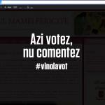 Mi-am închis blogul ieri în ziua alegerilor