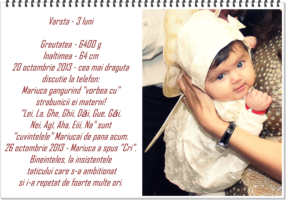 03. detalii despre bebe la 3 luni