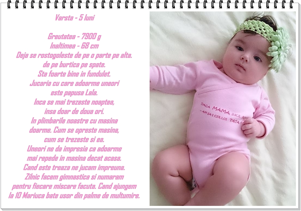 05. detalii despre bebe la 5 luni