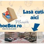Raport zilnic ShoeBox Moinești – cadouri de la moineșteni pentru copii