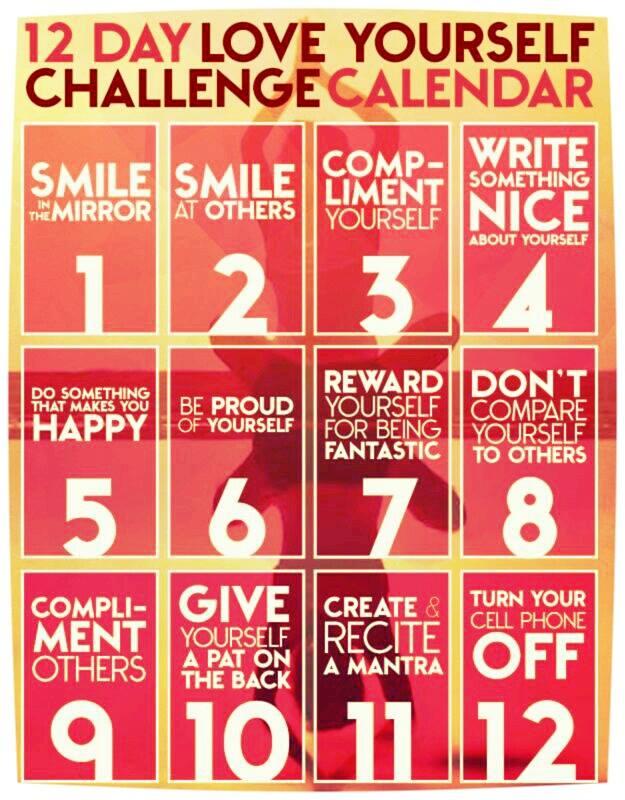 provocarea stimei de sine - 12 zile, 12 provocari iubeste-te pe tine