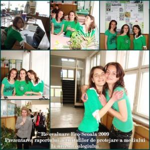re-evaluare program eco-scoala raportul colegiului tehnic grigore cobalcescu moinesti 23 aprilie 2009
