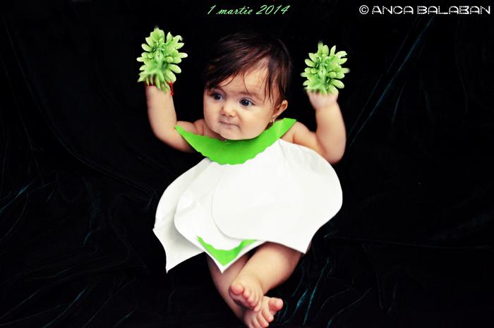 sedinta foto tematica primavara costumatie ghiocel fetita 1 martie