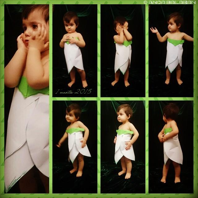 sedinta foto tematica primavara fetita 1 an si jumatate costumatie de ghiocel