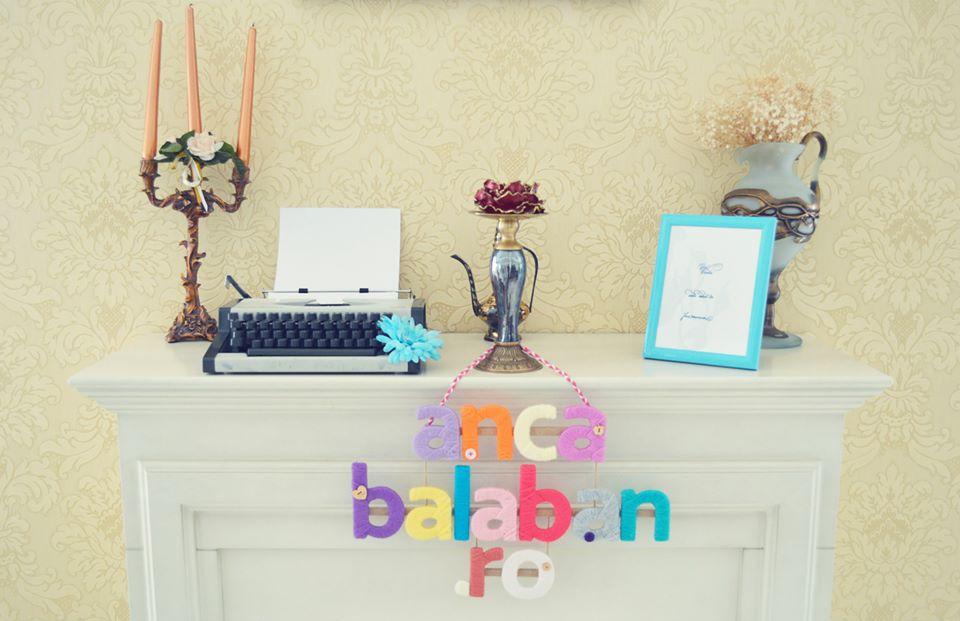 poza cu detalii decorative de la aniversarea blogului anca balaban