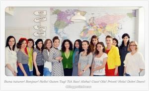 poza de grup bloggerite bacau ziua europei blogmeet