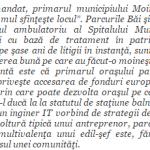 Invitație la dezbaterea publică: situația hotelului neterminat și statutul dorit pentru Moinești – stațiune balneoclimaterică