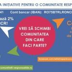 Investește în proiecte responsabile, educative și utile – redirecționează 2% pentru AICR