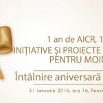 1 an de AICR – 1 an de inițiative și proiecte responsabile pentru Moinești și împrejurimi