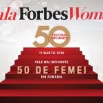 Femeile din online-ul românesc recunoscute la Gala Forbes Woman 2016