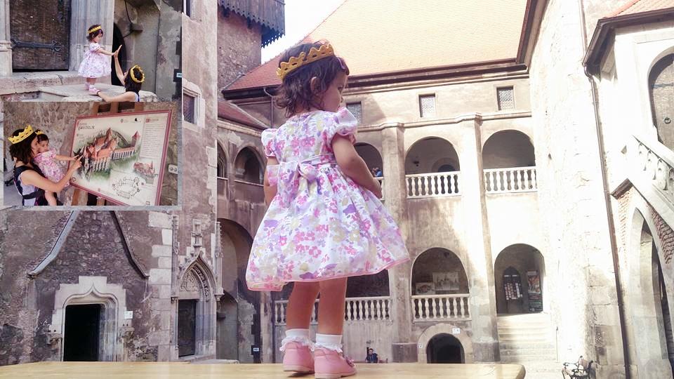relatia mama si fiica regina si printesa castelul huniazilor